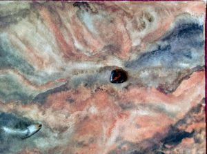 obsidienne acajou- (privé) terre d'australie